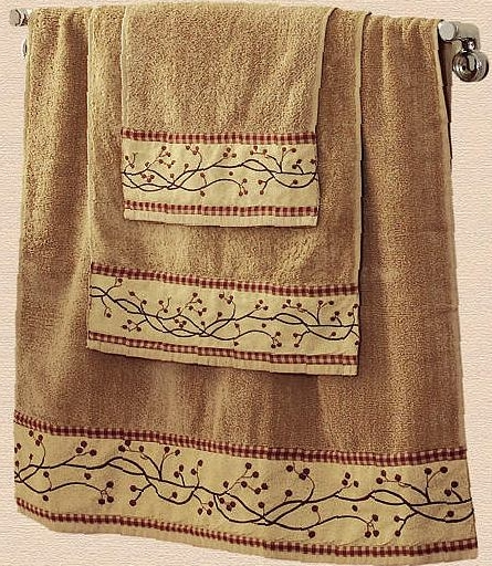 Bathroom decor patterns: shower curtains, rugs, towels and more ...