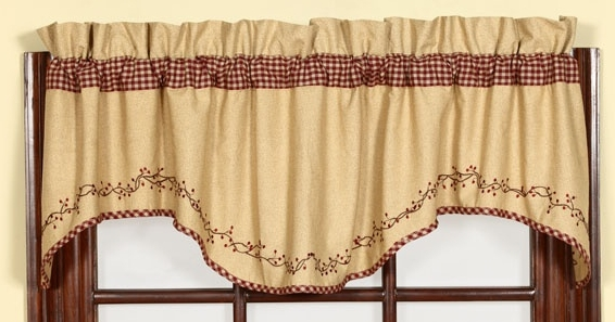 kitchen curtain valance patterns ~ decorate the house with