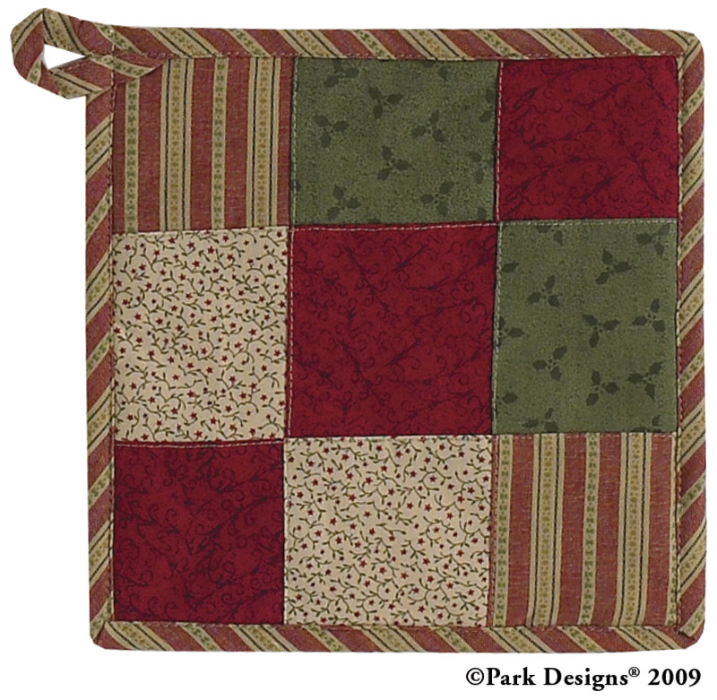 Park Designs holiday table linens and Christmas decor