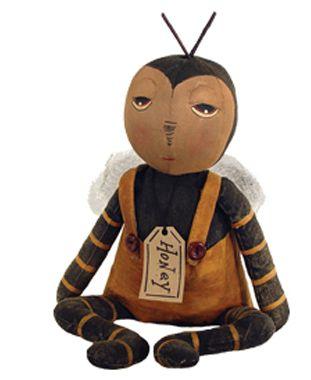 Honey Bee Baby Bug Doll