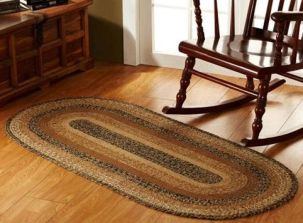 Kettle Grove braided rug