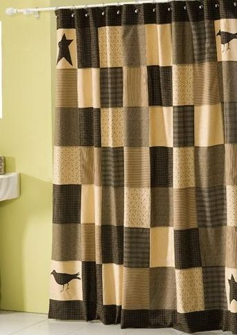 Kettle Grove shower curtain