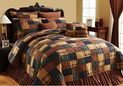 Patriotic Patch bedding