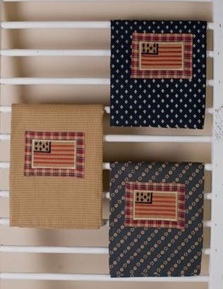 Patriotic Patch tea towels