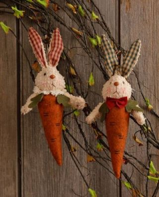 Happy Bloomin Bunny Carrot Tops