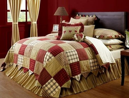 Heartland bedding collection