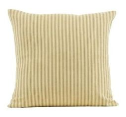 Heartland striped pillow