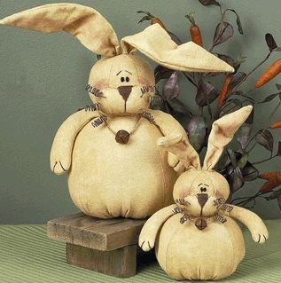 Rolly Polly Country Bunny Set