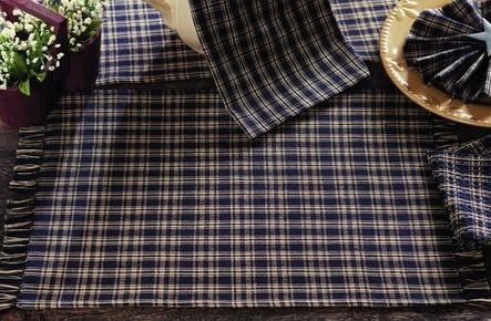 Cambridge Navy table linens