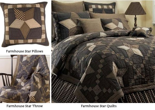 Farmhouse Star Bedding