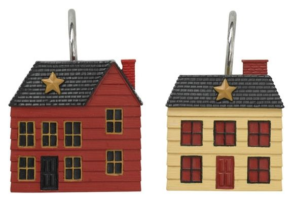 Home Place shower curtain hooks