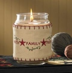 Family candle wrap
