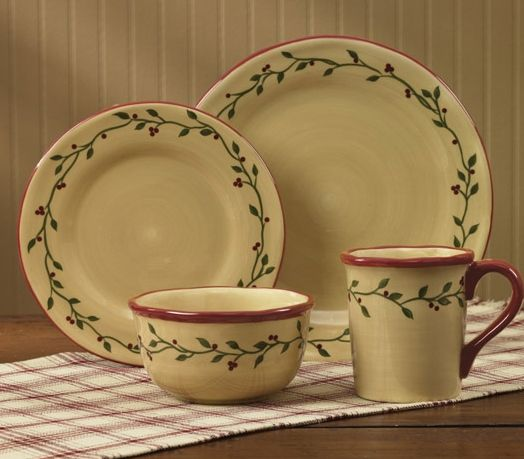 Thistleberry dinner plate set