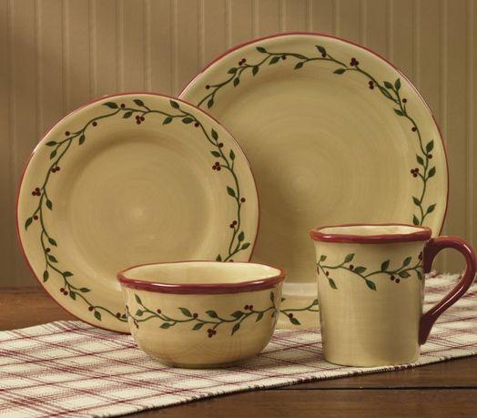 Thistleberry dinner plate set