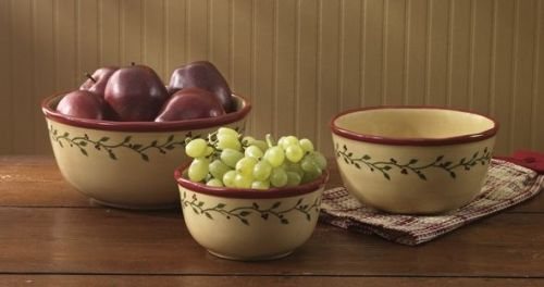 Thistleberry mixing bowl set