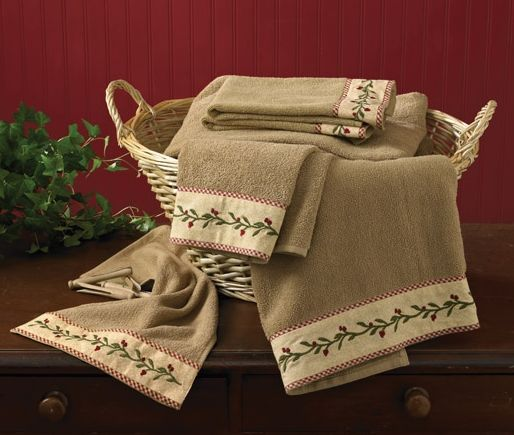 Thistleberry bathroom towel set
