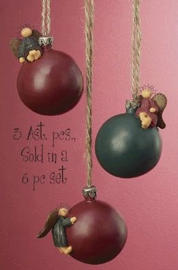 Angel Bulb Christmas Tree Ornaments
