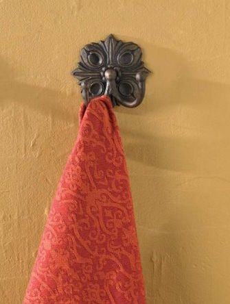 Clifton bath towel double hook