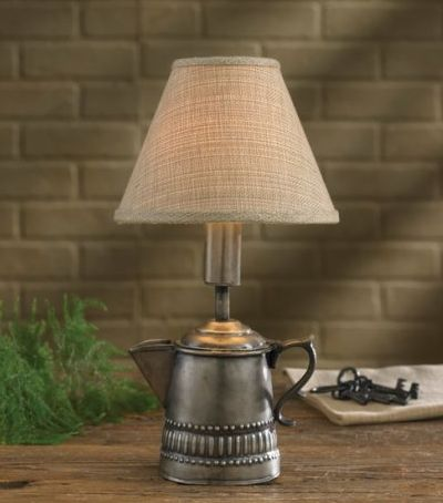 Small Coffee Pot Lamp