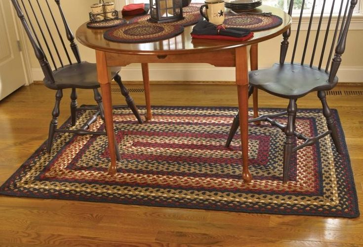Folk Art Braided Rugs