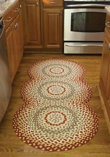 Mill Village Braided Rug Runner