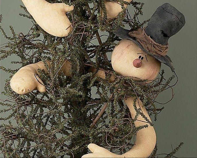 Dazzle Snowman Tree Topper