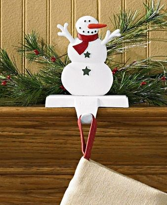 Holly Jolly Stocking Hanger