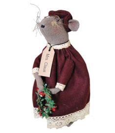 Mrs. Santa Mouse