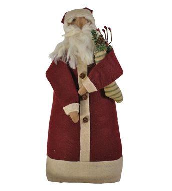 Santa with stocking