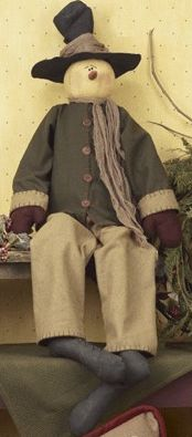 Sir Tanner Snowman Doll