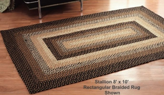 Elegant Stallion Braided Rugs