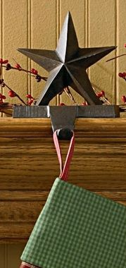Star stocking hanger