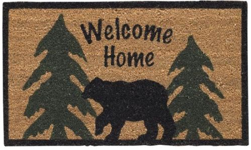 Welcome Home Bear Doormat