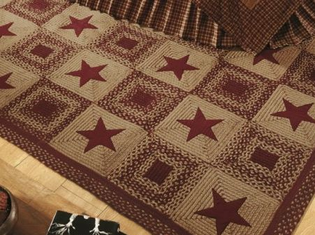 Wine Country Star Rug