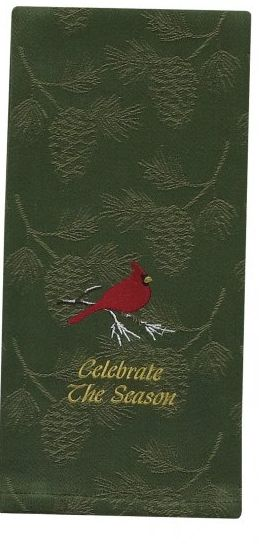 Celebrate the Season dish towel