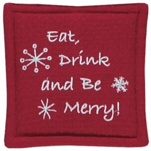 Eat Drink and Be Merry Mug Mat