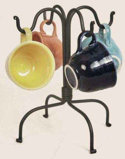 Four hook mug rack