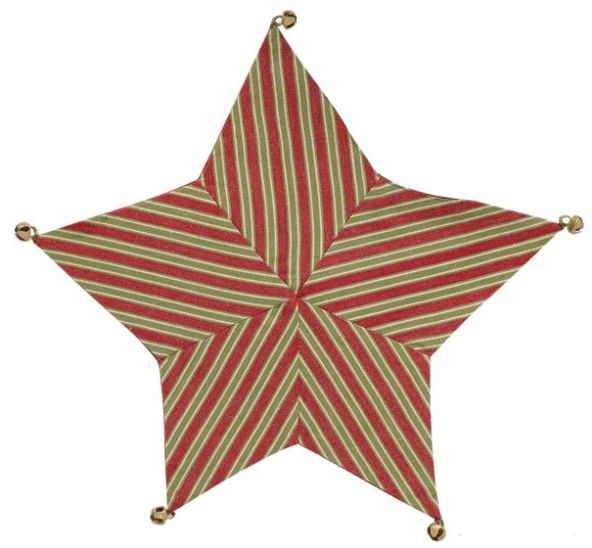 Star accent mat