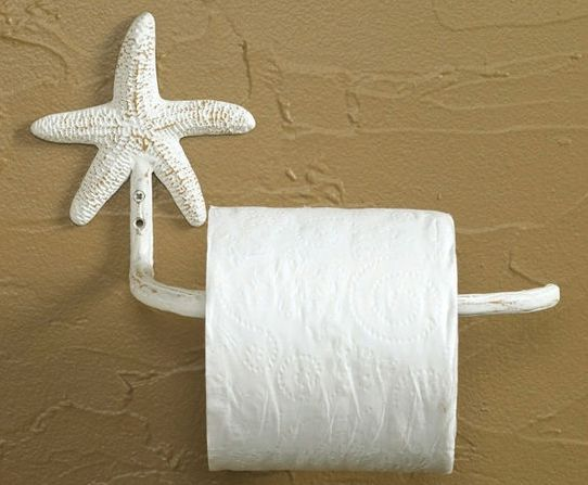 Starfish bathroom towel racks