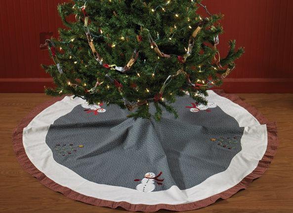 Winter Magic Christmas Tree Skirt