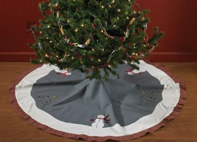 Winter Magic Christmas Tree Skirt