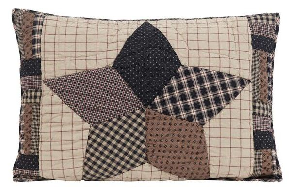 Bingham Star pillow sham