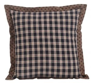 Bingham Star square fabric pillow