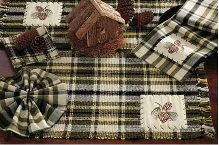 Pine Bluff kitchen linens