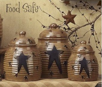 Star kitchen canister set
