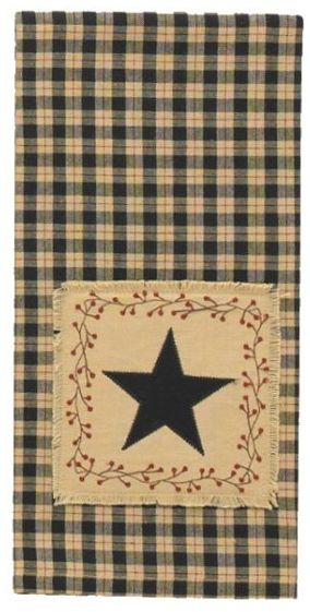 Star Patch dish towel