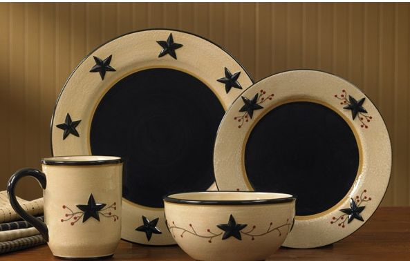 Star Vine ceramic dinnerware