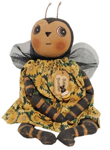 baby bumble primitive doll