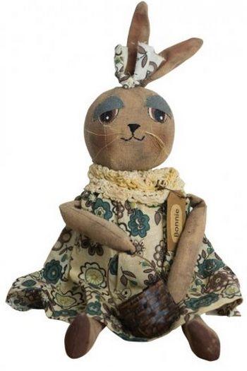Bonnie Bunny primitive doll