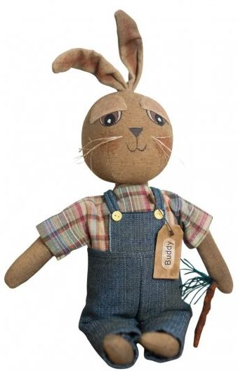 Buddy Bunny primitive doll